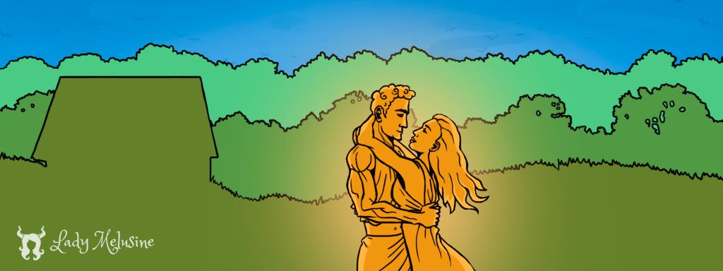 Illustration Pandore Lady Melusine