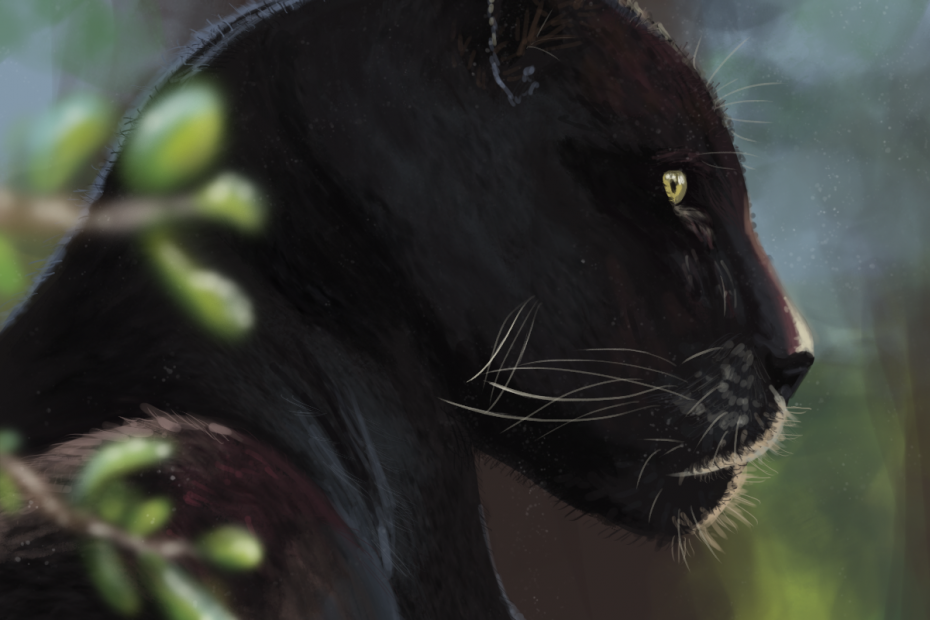 Black Panther Lady Melusine