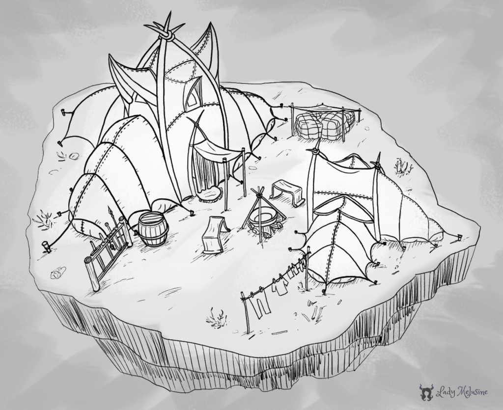 Demon Camp Lady Melusine